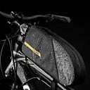 abordables Sacoches de Guidon de Vélo-CoolChange 1.6 L Sac de cadre de vélo Sacoche de Guidon de Vélo Pluie Etanche Séchage rapide Zip étanche Sac de Vélo TPU Nylon Sac de Cyclisme Sacoche de Vélo Cyclisme Activités Extérieures Vélo