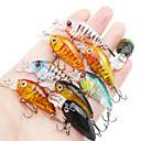 お買い得  ルアー/フライ-9 pcs ルアー ハードベイト / ミノウ 硬質プラスチック 海釣り / ベイトキャスティング / スピニング / ジギング / 川釣り / バス釣り / ルアー釣り / 一般的な釣り