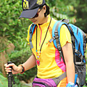cheap Hiking T-shirts-Women's Hiking Tee shirt Outdoor Lightweight Quick Dry Breathability Sweat-Wicking Tee / T-shirt Single Slider Camping / Hiking Camping / Hiking / Caving Traveling Green / Blue / Violet