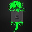 halpa Seinätarrat-Valonkatkaisijan-tarrat - Hohtavat seinätarrat / Animal Wall Tarrat Eläimet Olohuone / Makuuhuone / Kylpyhuone