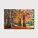 halpa Abstraktit maalaukset-Hang-Painted öljymaalaus Maalattu - Maisema Moderni Sisällytä Inner Frame