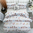 cheap High Quality Duvet Covers-Duvet Cover Sets Cartoon Polyster Printed 3 PieceBedding Sets / 300