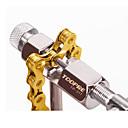 Χαμηλού Κόστους Tire Repair Kits-Εργαλείο διαχωρισμού αλυσίδας ποδηλάτου Φορητό Σετ επισκευής Πολυλειτουργικό Ανθεκτικό Για Ποδήλατο Δρόμου Ποδήλατο Βουνού Ποδήλατο με σταθερό γρανάζι Ποδηλασία Ατσάλι Ασημί