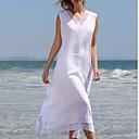 povoljno Ogrtači i odjeća za spavanje-Žene A kroj Haljina V izrez Asimetričan