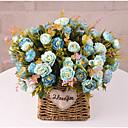 halpa Tekokukat-Keinotekoinen Flowers 1 haara Klassinen Näyttämötarpeet Häät Ruusut Eternal Flowers Pöytäkukka