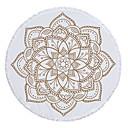 hesapli Kumsal Havlusu-Kadın's Beyaz Etek Örtü Mayolar - Geometrik Püskül Tek Boyut Beyaz
