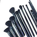 billige foundation børster-Professionel Make-up pensler 12pcs Blød syntetisk Træ / Bambus til Makeupværktøj Makeup børste