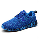 זול נעלי ספורט לגברים-בגדי ריקוד גברים נעלי נוחות רשת אביב קיץ ספורטיבי נעלי אתלטיקה ריצה אפור / אדום / כחול
