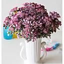 halpa Tekokukat-Keinotekoinen Flowers 5 haara Klassinen Näyttämötarpeet Pastoraali Tyyli Kasvit Pöytäkukka