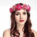 abordables Demoiselles d'Honneur-Tissus Bandeaux / Casque avec Ruban / Fleur 1 Pièce Mariage / Occasion spéciale Casque