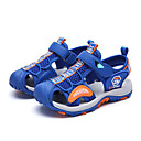 halpa Lasten sandaalit-Poikien PU Sandaalit Taapero (9m-4ys) / Pikkulapset (4-7 vuotta) / Suuret lapset (7 vuotta +) Comfort Split Joint Musta / Tumman sininen / Vaalean sininen Syksy / Kevät kesä / Kumi
