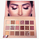 cheap Eyeshadows-Make-up For You 18 Colors Eyeshadow / Eyeshadow Palette Eye / EyeShadow Formaldehyde Free / Paraben Free / Youth Natural Breathability Safety Daily Makeup / Party Makeup / Fairy Makeup 1160 Cosmetic