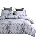 cheap High Quality Duvet Covers-Duvet Cover Sets Luxury / Stripes / Ripples / Contemporary Polyster Printed 3 PieceBedding Sets