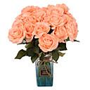 זול פרחים מלאכותיים-פרחים מלאכותיים 5 ענף קלאסי אביזרי במה ארופאי ורדים פרחים נצחיים פרחים לשולחן