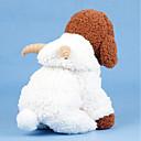 billige Hundeklær-Hunder Katter Kostume Frakker Hundeklær Ensfarget Hvit Bomull Kostume Til Mops Bichon Frisé Schnauzer Høst Vinter Unisex Fritid / hverdag Oppvarminger