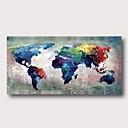 halpa Abstraktit maalaukset-Hang-Painted öljymaalaus Maalattu - Abstrakti Comtemporary Moderni Sisällytä Inner Frame