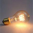 povoljno Sa žarnom niti-1pc 60 W E26 / E27 A60(A19) Žuto 2300 k Retro / Zatamnjen / Ukrasno Žarulja sa žarnom niti Edison 220-240 V