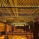 abordables Guirlandes Lumineuses LED-6m * 4m 672 leds lumières de rideau de lumières whitewarm whitebluemulti couleur partie décorative linkable 220-240v 1pc
