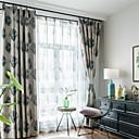 זול וילונות חלון-עכשווי Blackout פאנל אחד וִילוֹן סלון   Curtains