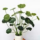 hesapli Yapay Bitkiler-Yapay Çiçekler 1 şube Klasik Modern Çağdaş Sonsuz Çiçekler Masaüstü Çiçeği