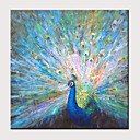 povoljno Slike sa životinjskim motivima-Hang oslikana uljanim bojama Ručno oslikana - Sažetak Pop art Klasik Moderna Bez unutrašnje Frame