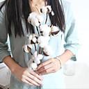 זול צמחים מלאכותיים-פרחים מלאכותיים 1 ענף קלאסי סגנון מינימליסטי פסטורלי סגנון צמחים פרחים לשולחן