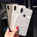 povoljno iPhone maske-Θήκη Za Apple iPhone XS / iPhone XR / iPhone XS Max Otporno na trešnju / Translucent Stražnja maska Šljokice Mekano TPU
