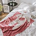billige Tæpper ogplaider-Seng tæpper / Multifunktionelle tæpper, Tegneserie Bomuld Blød comfy Ekstra blødt dyner