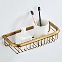 זול מדפי מקלחת-מדף האמבטיה יצירתי פליז 1pc - חדר אמבטיה יחיד רכוב