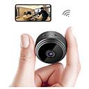 billige IP-kameraer-SDETER A9 2 mp IP-kamera Indendørs Support 64 GB / Trådløs / Bevægelsessensor / Fjernadgang / Zoom / IR-klip
