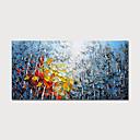 levne Abstraktní malby-ručně malované plátno olejomalba abstraktní krajina domácí dekorace s rámem obraz připraven k zavěšení