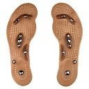 hesapli Tabanlık ve Uçlar-1 çift Improving Sleep / Stresi Hafifletir Astarlar ve Uçlar Silika Jel Tüm Ayakkabılar Tüm Mevsimler Unisex Kahverengi