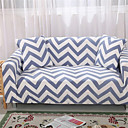 levne Potahy na sedačky-vlna pruh odolné měkké vysoké stretch slipcovers pohovka kryt omyvatelné spandex gauč kryty