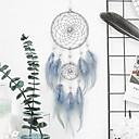 זול לוכד חלומות-עבודת יד חלום לוכד נוצה בוהמיה סגנון קישוטים הקיר