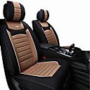 halpa Istuinsuojat autoon-auton istuintyynyt polyesterikangas universaalimoottorit autoille suojaavat etuistuinta musta / violetti / musta / ruskea / musta / punainen