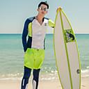 halpa Kuntoilu-, juoksu- ja joogavaatetus-Miesten Skin-tyyppinen märkäpuku Sukelluspuvut UV-aurinkosuojaus Nopea kuivuminen Pitkähihainen Uinti Sukellus Patchwork Syksy Kevät Kesä / Elastinen