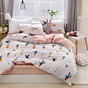 رخيصةأون نموذج-مجموعات حاف الغطاء ورد بوليستر مطبوع 4 قطعاتBedding Sets
