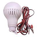 abordables Monoculaires, Jumelles & Télescopes-1pc 4 W Ampoules Globe LED 500 lm E26 / E27 24 Perles LED SMD 5730 Urgence Blanc 12 V / RoHs