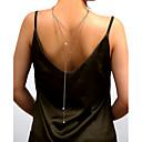 ieftine Bijuterii pentru corp-Corp lanț / burtă lanț Imitație de Perle Pentru femei Auriu / Argintiu Bijuterii de corp Pentru Nuntă / Petrecere / Cadou / Club / Măr