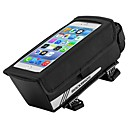 cheap Bike Covers-ROCKBROS Bike Frame Bag Top Tube 6.2 inch Cycling for Cycling / iPhone X / Other Similar Size Phones Black
