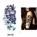 Недорогие Временные татуировки-3 pcs Временные татуировки Защита от влаги / Лучшее качество плечо Временные тату