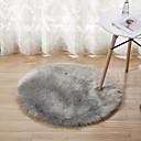 זול שטיחים-שטח שטיחים יום יומי ראיון / פוליאסטר, עגולות איכות מעולה שָׁטִיחַ