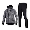 billige Løbetøj-Herre Træningsdragt Sport Helfarve Tøjsæt Løb Sportstøj Åndbart Mikroelastisk Regulær
