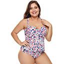 abordables Trajes acuáticos y camisetas antierupciones-Mujer Traje de baño de talle alto Bañadores Transpirable Secado rápido Sin Mangas Natación Deportes acuáticos Retazos Verano