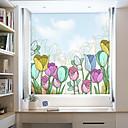 billige Møbelbetræk-Vinduespil og klistermærker Dekoration Moderne / 3D Blomst PVC Vinduessticker / Anti-reflektion