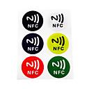 Χαμηλού Κόστους Έλεγχος πρόσβασης και συστήματα χρόνου-5YOA 6ColorNFC213 RFID Keyfobs Αρχική / Διαμέρισμα / Σχολείο