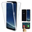 povoljno Modne naušnice-Θήκη Za Samsung Galaxy S9 / S9 Plus / S8 Plus Otporno na trešnju / Ultra tanko / Prozirno Korice Jednobojni Mekano TPU