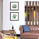 זול אומנות ממוסגרת-תמונת שמן ממוסגרת הדפסים - בוטני פוליסטירן פוסטר וול ארט