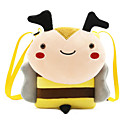 お買い得  キッズバッグ-女の子 バッグ ポリエステル キッズバッグ ジッパー 動物 イエロー