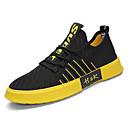 hesapli Erkek Sneakerları-Erkek Ayakkabı Elastik Kumaş / Tissage Volant Bahar Günlük Spor Ayakkabısı Günlük için Beyaz / Siyah / Kırmızı / Siyah / Sarı / Zıt Renkli